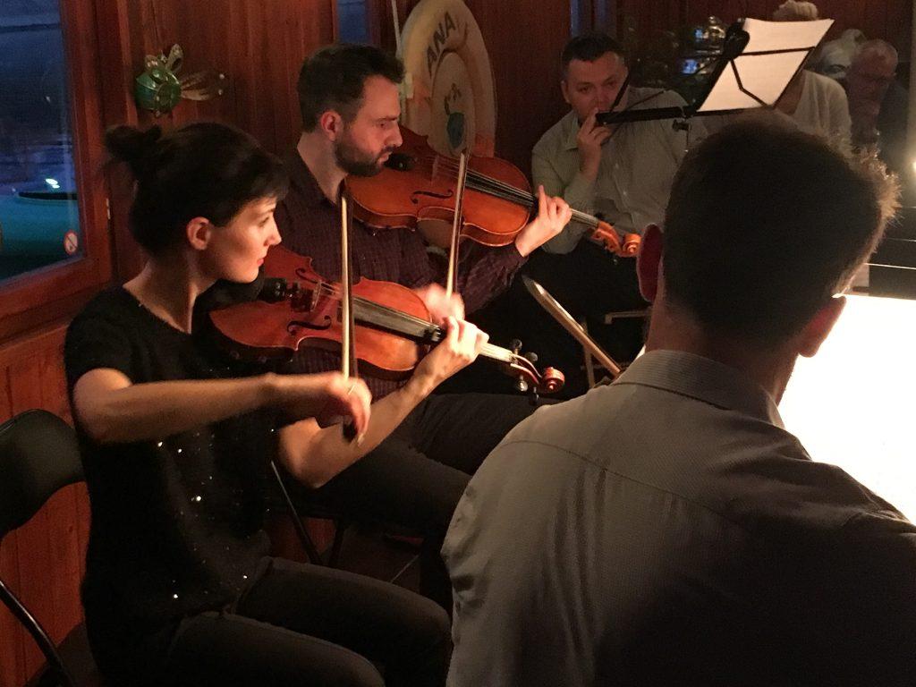 """Koncert kwartetu smyczkowego """"Aquila"""" - Statek Kultury"""
