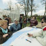 Panel dyskusyjny dotyczący oddolnych działań w pięciowsi // fot. Piotr Wręga