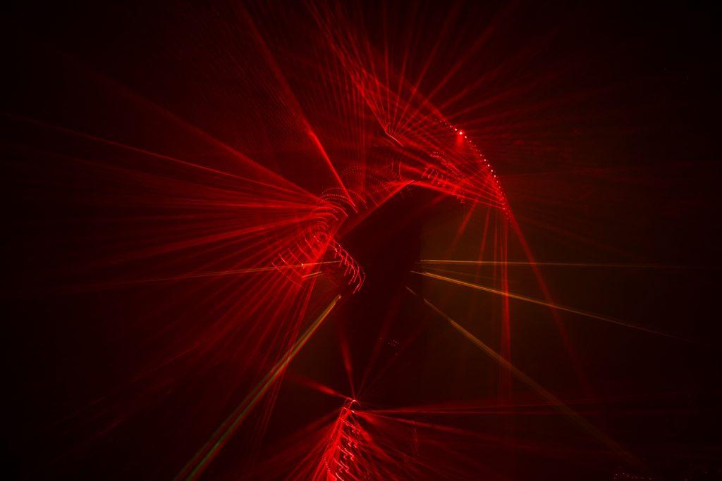 Digital performance – LASERFLESH – Patryk Lichota // fot. Piotr Wręga