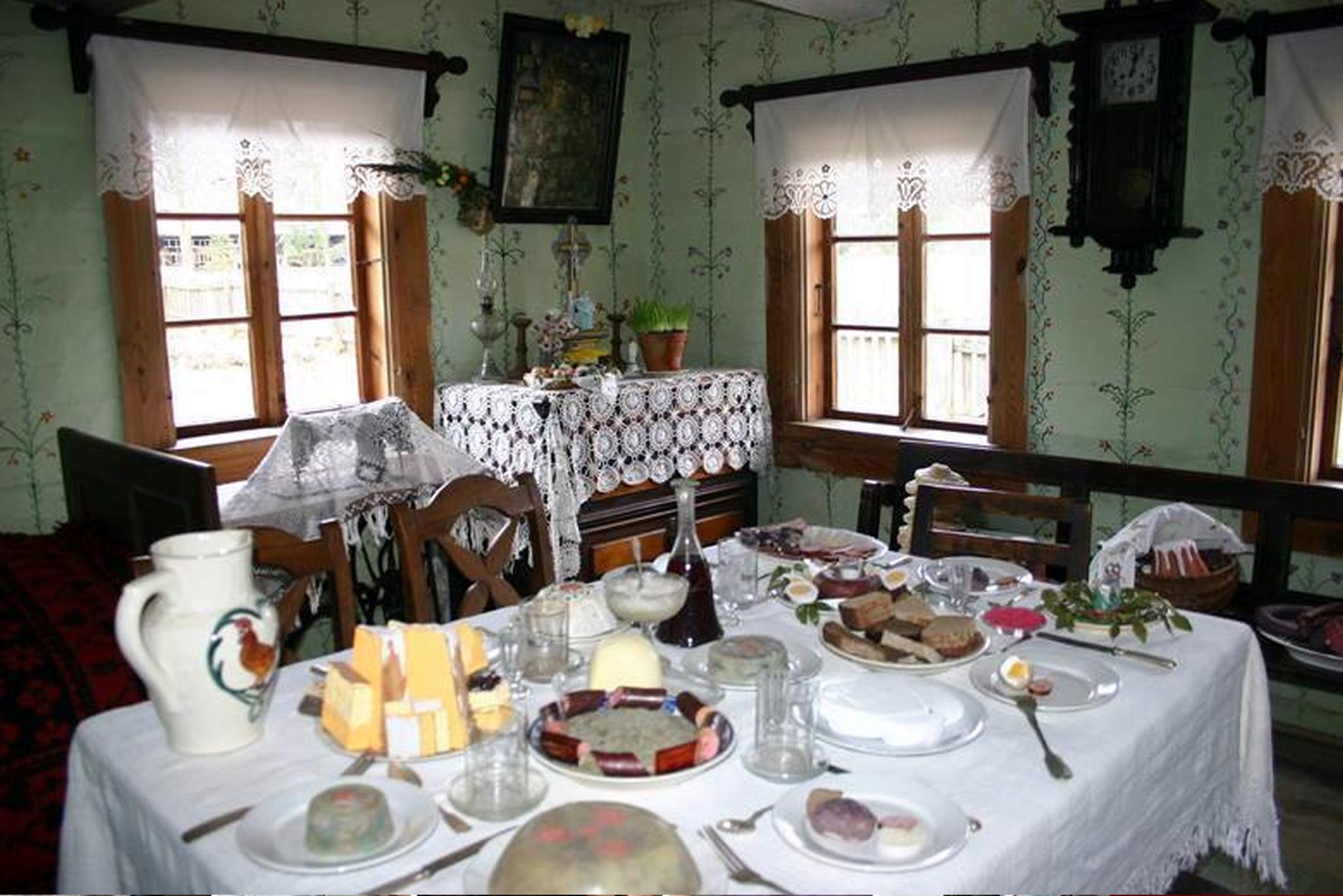 Pisanki Odrzańskie i wiejskie śniadanie