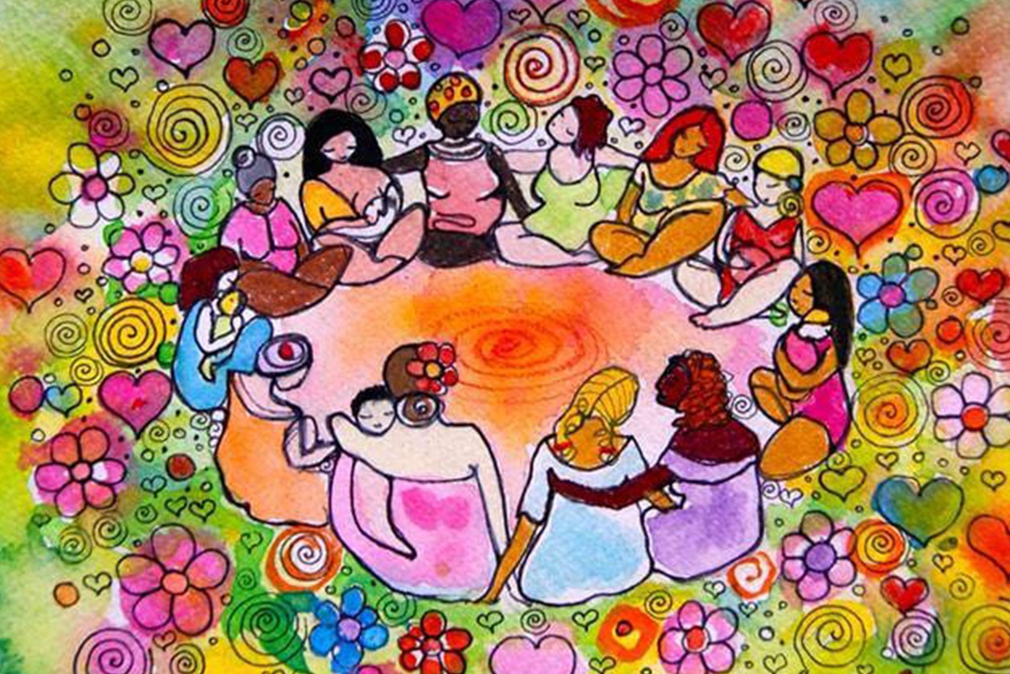 Krąg Kobiet - Kwiatowa Pełnia