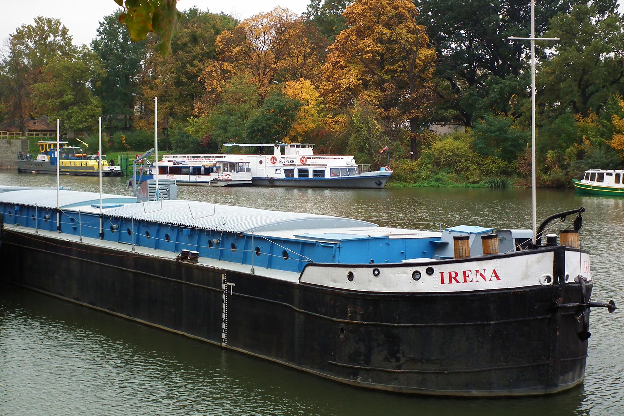 """Barka """"Irena"""" w Cigacicach! - spotkanie z prof. Januszewskim"""